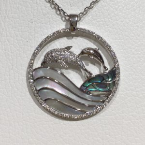 dolphin wave, large WG 48966
